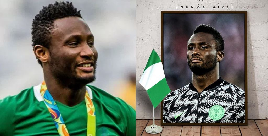 Mikel Obi announces his retirement from the Super Eagles
