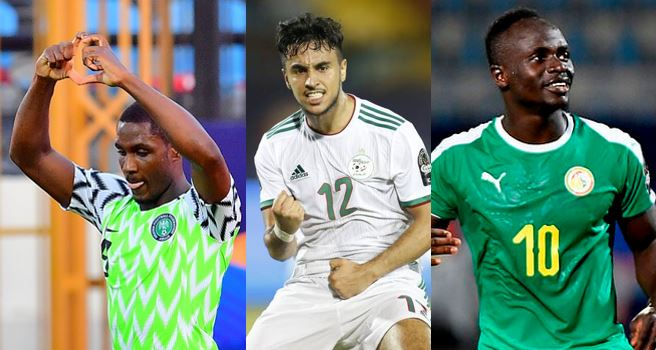 AFCON: Odion Ighalo, Sadio Mane and Adam Ounas top goalscorers' chart (See table)