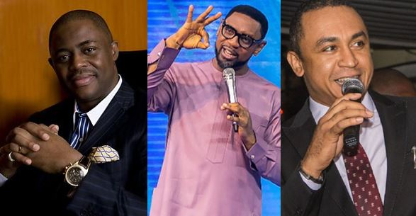 'Never be too quick to judge Fatoyinbo because the accuser is a woman' – Fani Kayode says, Daddy Freeze reacts