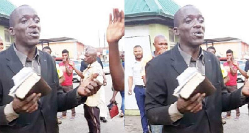 Evangelist caught allegedly stealing phones while preaching in a phone shop