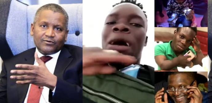 'I get money pass Dangote ' – Ghanaian big boy claims, flaunts his expensive jewelries (video)