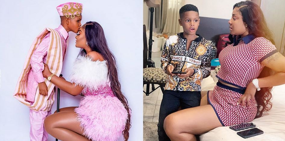 'When I gave birth to you, you died' – Angela Okorie tells full story of how her son died and came back to life