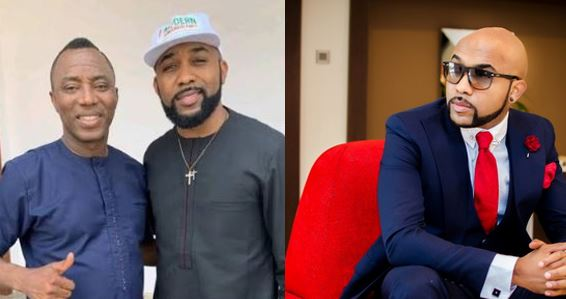 Nigeria has a way of punishing the innocent and trampling on the rights of the regular citizens – Banky W speaks on Omoyele Sowore's detention by DSS