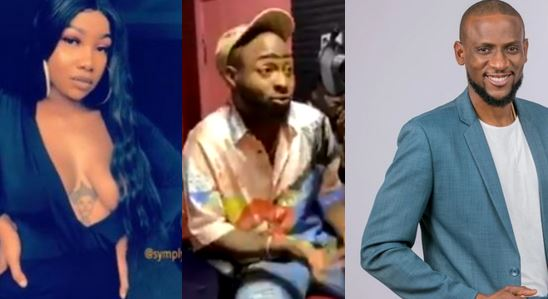 #BBNaija: Davido denies rooting for Tacha, mentions Omashola on live radio (video)