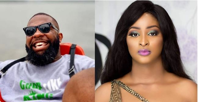 Oyemykke heavily blasts Etinosa for saying she cannot date him because he shouts too much