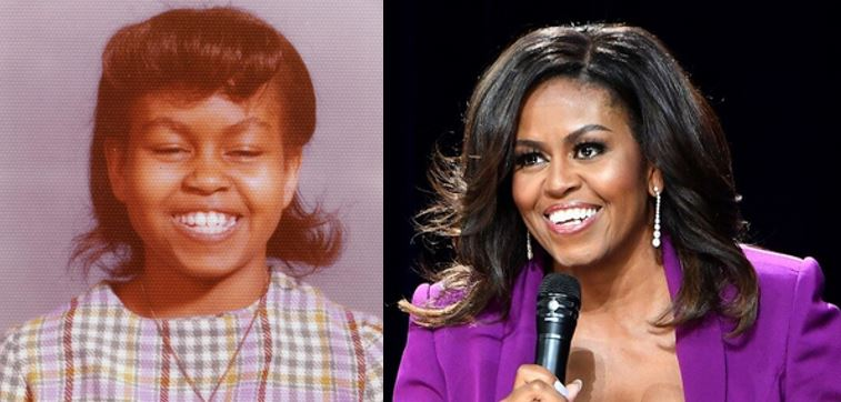 Michelle Obama shares rare photo from her early school days with a powerful message