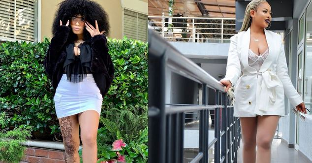 Nina Ivy slays in cleavage-baring outfit (Photos)