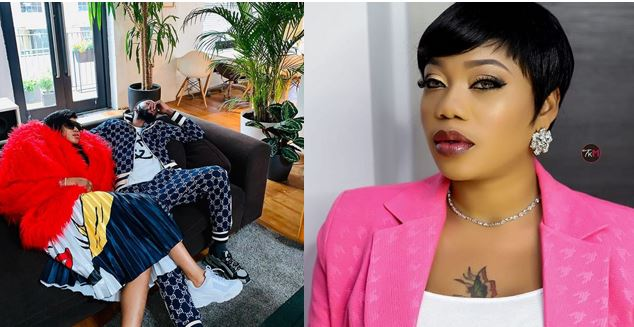 Congo men are better at loving than Nigerian men – Toyin Lawani says as she shares photo of her Congolese man