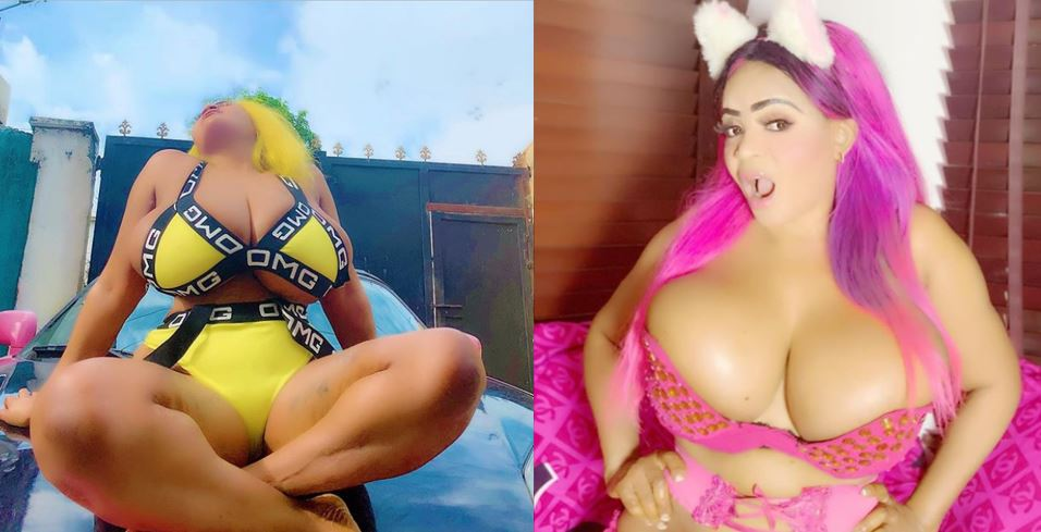 Cossy Ojiakor celebrates her birthday with new racy photos