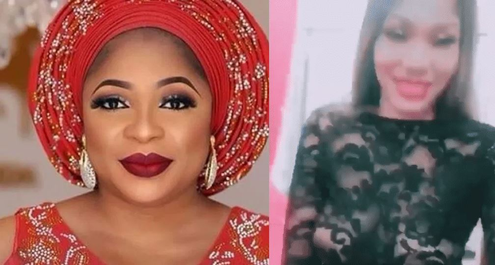 'Married' Nollywood actress, Kemi Afolabi clashes with another lady over Actor Gida
