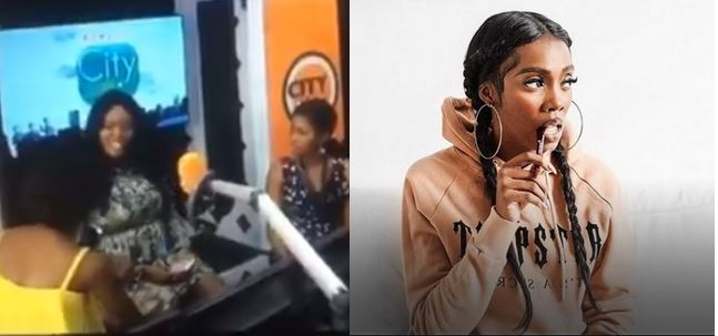 City FM OAPs insult Nigerian female artistes, Tiwa Savage reacts after video leaks