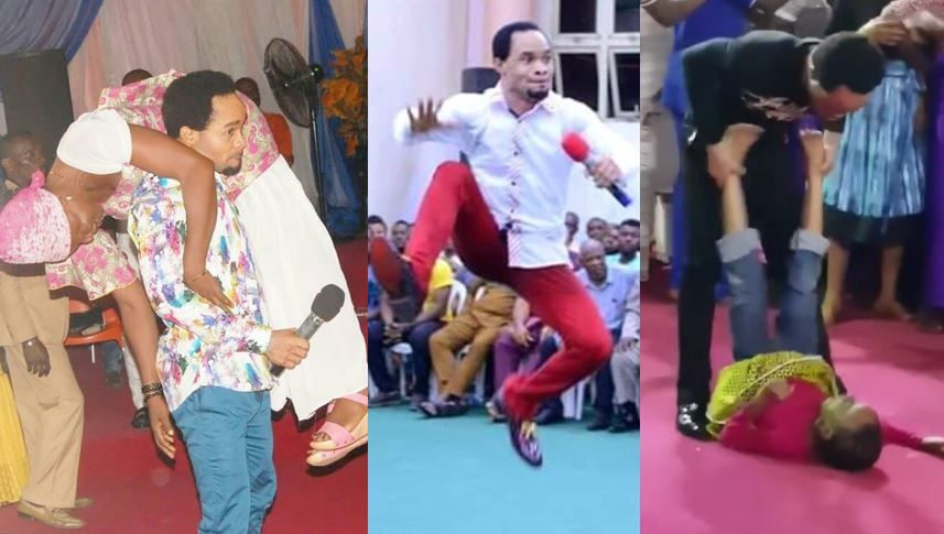 Wrestlemania pastor, Prophet Chukwuemeka Odumeje, warns those who comment negatively on his miracles (Video)