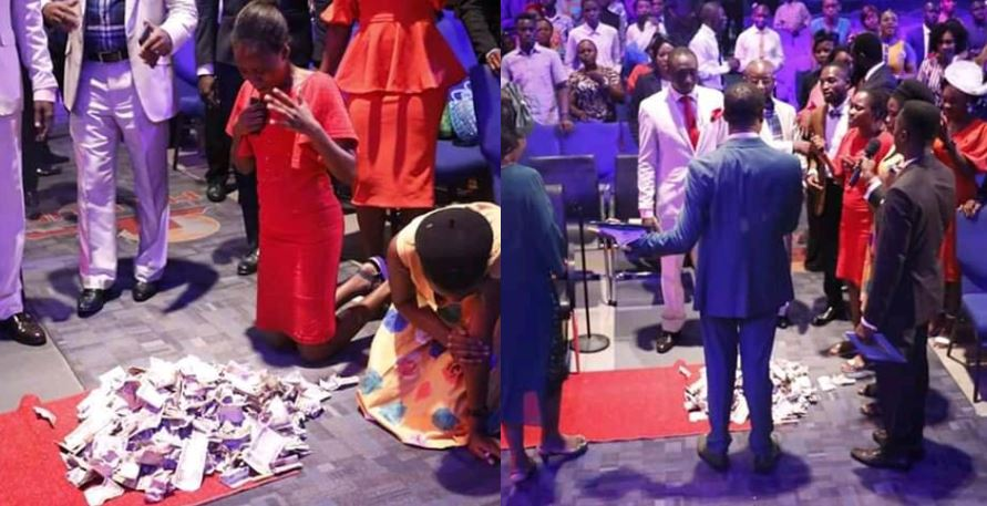 Congregation Raises Hundreds of Thousands of Naira for Church Member After Her Heart Touching Testimony