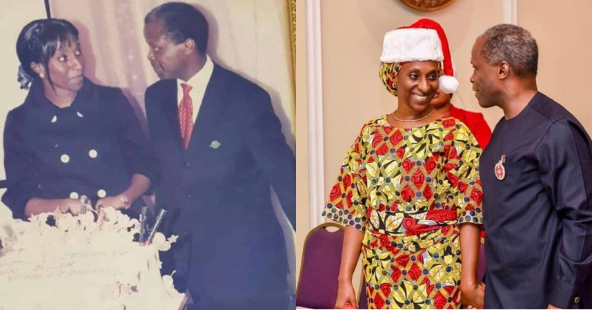 Throwback photos of Vice President Yemi Osinbajo and his wife as they celebrate 30th wedding anniversary