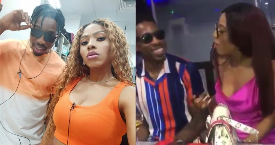 Video of Ike giving his BBNaija lover, Mercy American 'accent' lesson