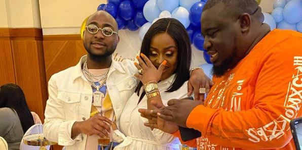 Video from Davido's son's naming ceremony in London