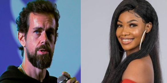 Twitter CEO, Jack Dorsey follows Tacha on twitter