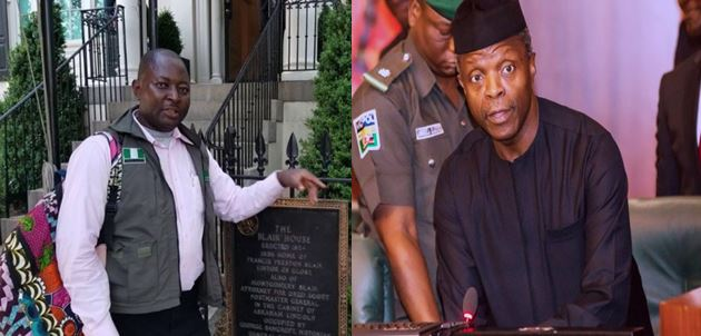 Osinbanjo apologizes to journalist his security beat up