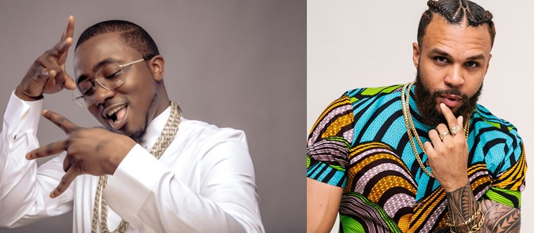 Ice Prince gets his groove back as he rocks the stage at Jidenna's '85 to Africa tour' (Photos)