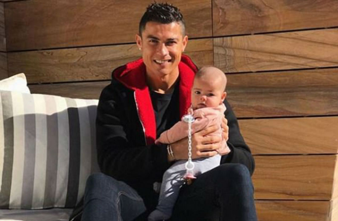 Cristiano Ronaldo throws fancy birthday for second daughter (SEE PICTURES)