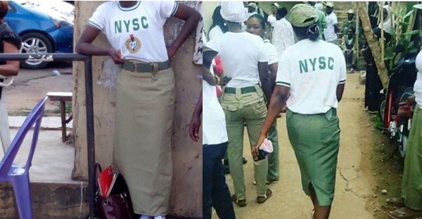 Two female corpers sent packing from Ebonyi camp for refusing to wear trousers and white shorts