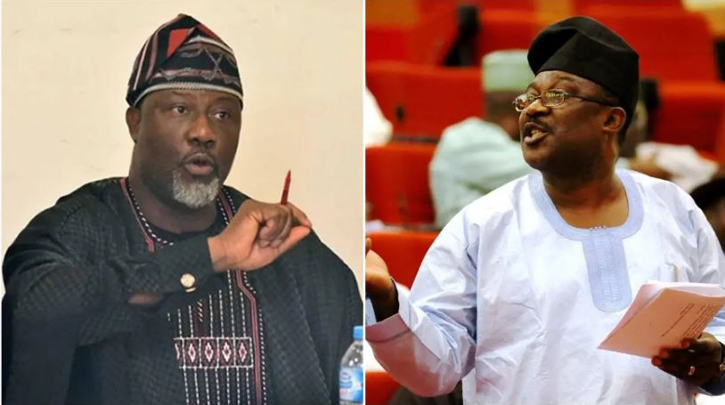 """Congratulating Smart Adeyemi is like congratulating an armed robber"""" Dino Melaye tweets as he releases another song (video)"""