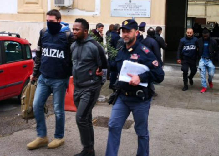 Italian Police destroy two Nigerian sex trafficking Mafia, arrest officials