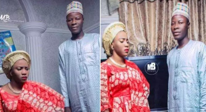 Bride goes viral for her 'angry look' in pre-wedding photos