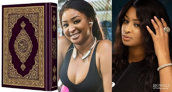 QU'RAN vs ETINOSA: Angry Islam cleric dares Nollywood actress (VIDEO)