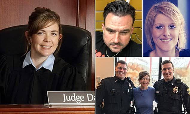 Female judge accused of having group sex with her staff
