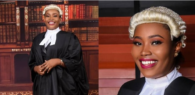 Lady who couldn't secure admission to study law on her first trial, gets first class at law school