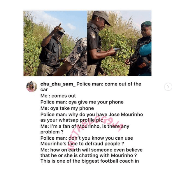 man-got-arrested-by-nigeria-police-for-using-jose-mourinho-as-whatsapp-profile-picture