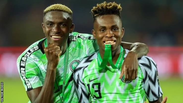 Nigerian duo Osimhen, Chuwkwueze named by CAF for African Youth Player of the Year