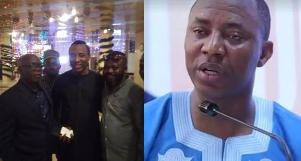 DSS Finally Releases Sowore After 125 Days Of Detention (Photos)