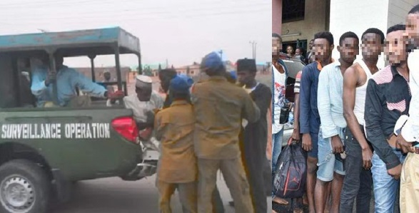 50 homosexuals reportedly arrested during orgy in Kano to celebrate graduation