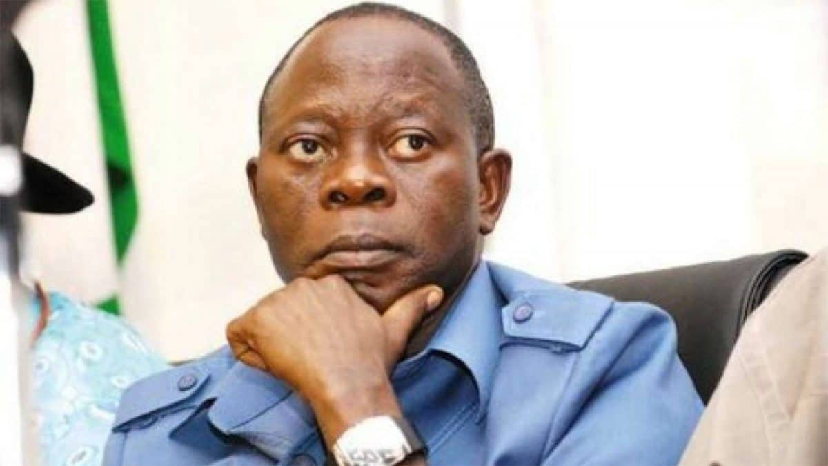 President Buhari's rumoured third term was planted by PDP – Oshiomhole