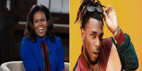 Michelle Obama names Burna Boy's song that she uses to work out