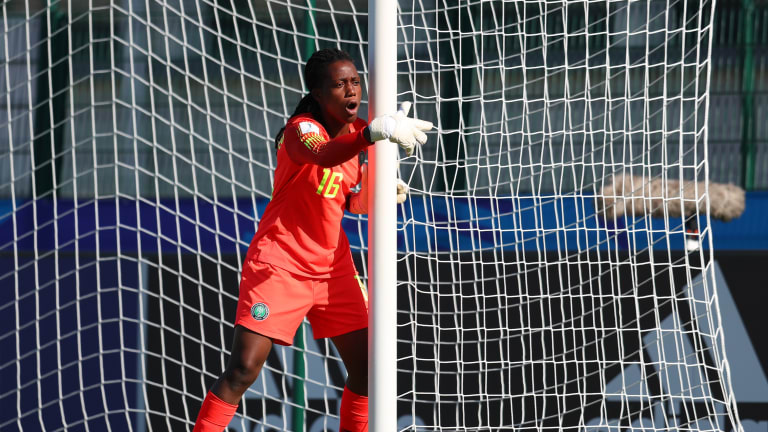 Super Falcons' 19-year old Women's World Cup recording breaking goalkeeper, Nnadozie joins Paris FC