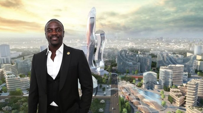 Akon seals agreement for the building of his own city in Senegal (Photos)