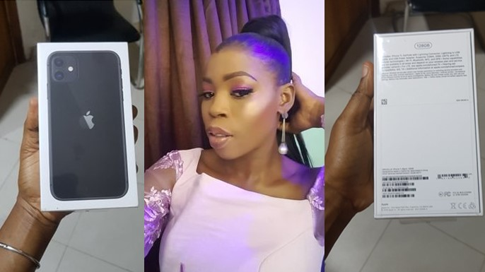My boss rewarded me with iPhone 11 for being good at my job – Lady reveals