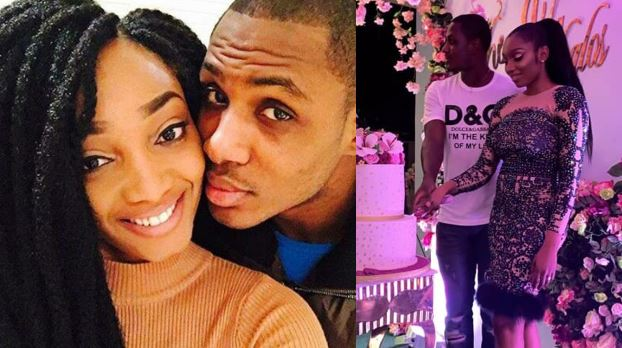 Former Super Eagles striker, Odion Ighalo and wife, Sonia, delete each other's pictures from their IG pages amidst reports of crisis in their marriage