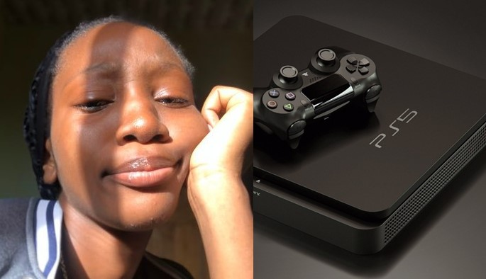 Nigerian lady reveals she's saving to buy Playstation 5 for her boyfriend
