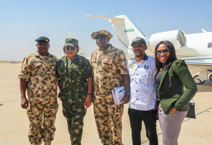 Regina Daniels' mother finally unveiled by Defense Headquarters in Abuja (PHOTOS)