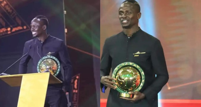 Sadio Mane wins CAF 2019 African Player of the Year award