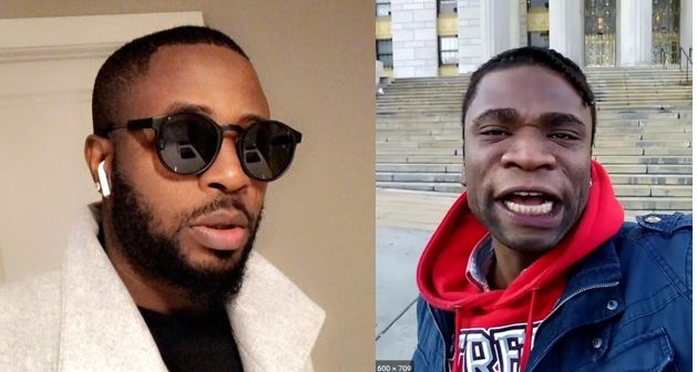 Nigerians react as Speed Darlington threatens to tie Tunde Ednut's future and get him deported for claiming he made him popular (Video)