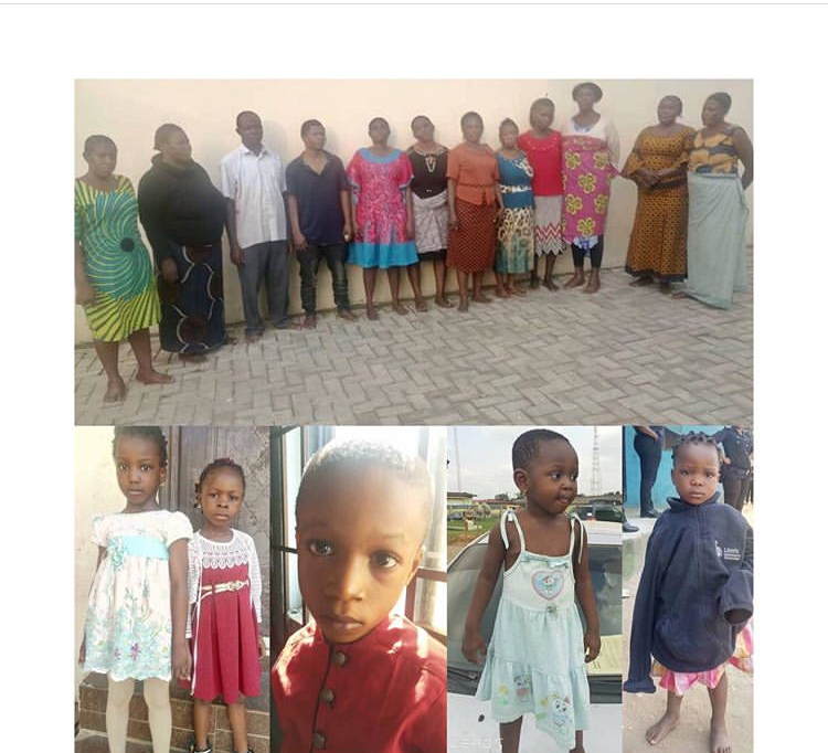 12-Man Child Traffickers Arrested, Six Kids Recovered (Photo)