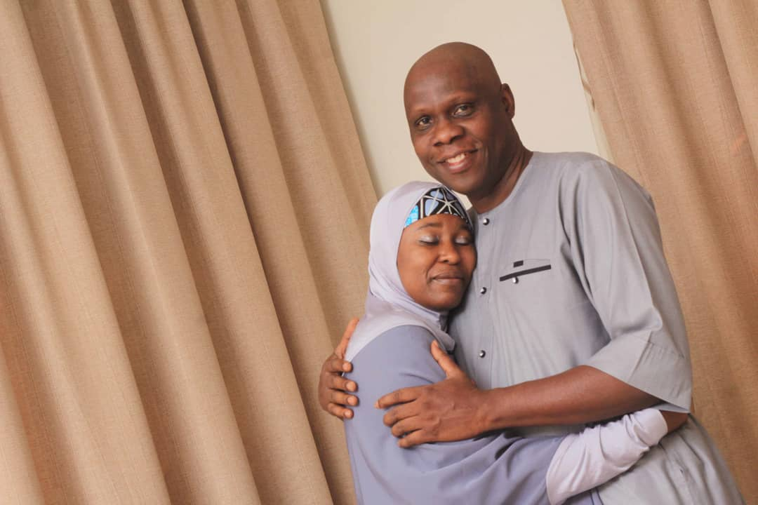 When my husband proposed, he did not kneel down and he got people to do chores because I told him I hate chores – Aisha Yesufu speaks on her 22-year marriage