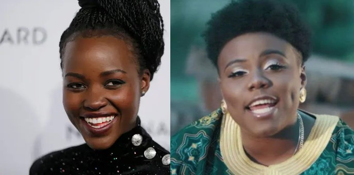 Hollywood star, Lupita Nyong'o excitedly vibes to Teni's song (Video)