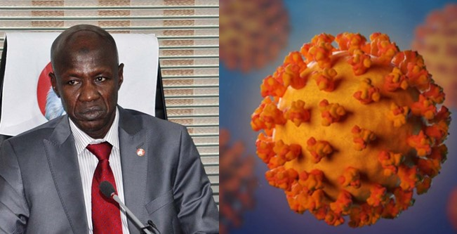 'We have the video' – Nigerians reply EFCC as it denies Magu said Coronavirus is caused by corruption