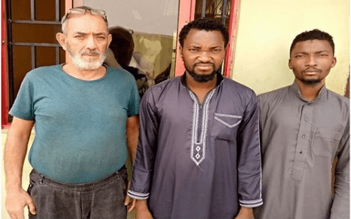 Two men arraigned alongside Lebanese man for trafficking fellow Nigerians